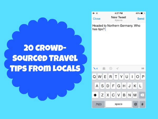 Crowd-sourced travel tips