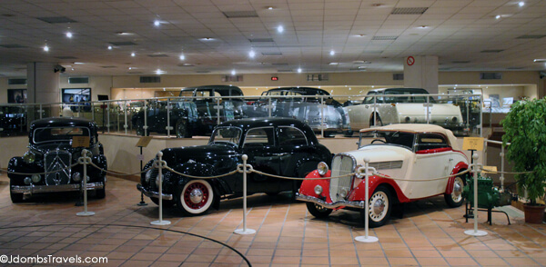 Prince Rainier's Antique Car Collection