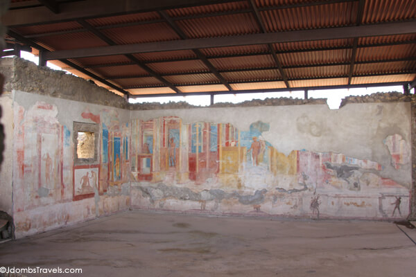 The House of the Ancient Hunt, Pompeii