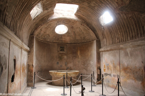 Forum Baths, Pompeii