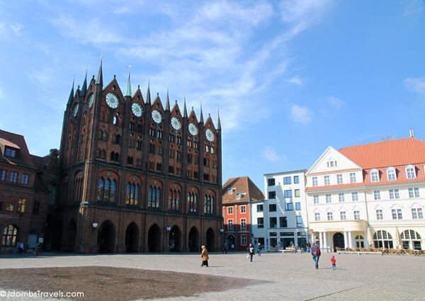 Stralsund Alter Markt and Town Hall