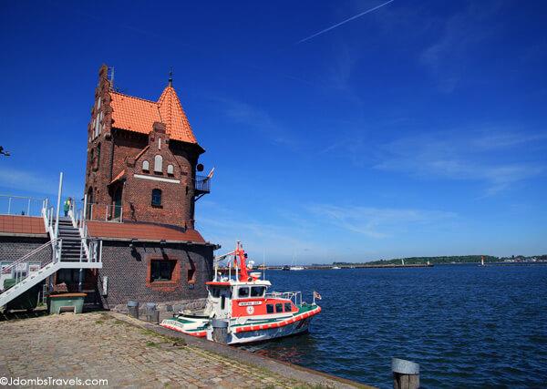 Stralsund's harbor