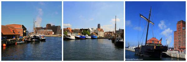 Old harbor of Wismar