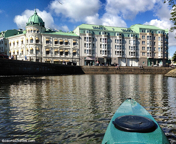 Kayaking in Gothenburg