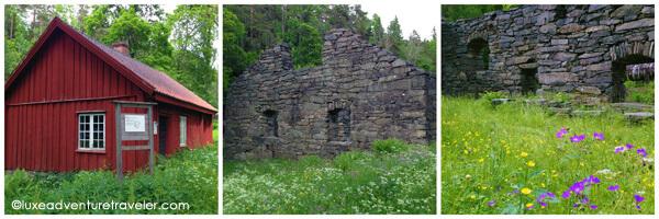 Lancashire ruins in Dalsland, Sweden