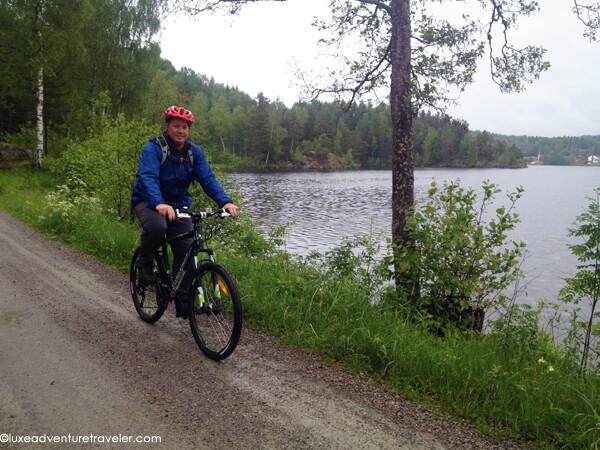 Mountain biking in Dalsland, Sweden