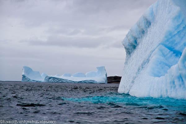 Icebergs in Kulusuk, East Greenland