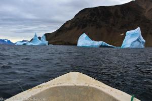 On a fishing boat near Kulusuk, East Greenland