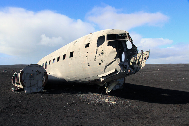 US Navy plane crash Iceland