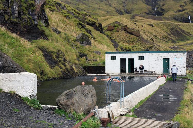 Seljavallalaug Swimming Pool, South Iceland
