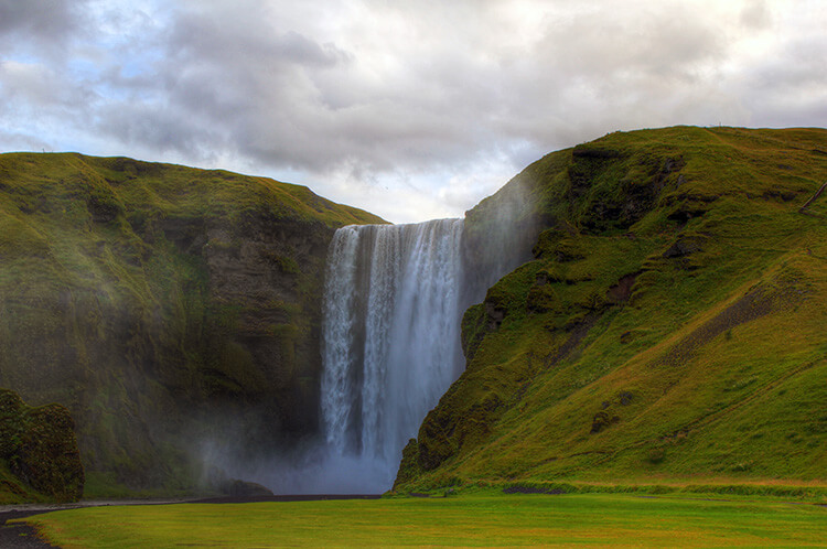 Skogafoss, South Coast, Iceland
