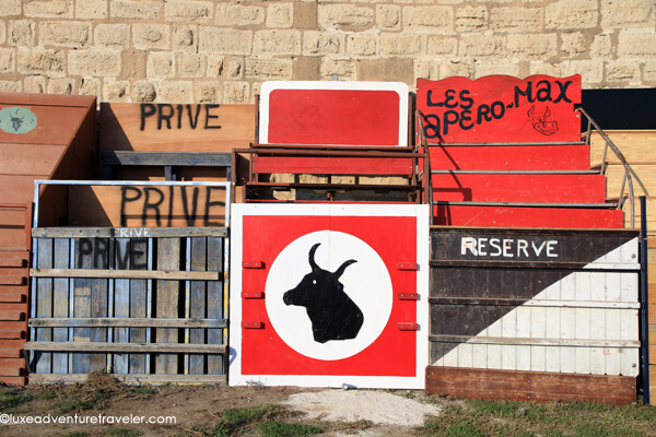 Bullfighting in Aigues-Mortes