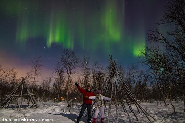 Northern Lights in Abisko