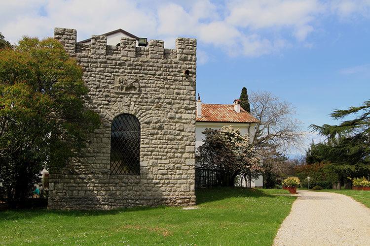 The castle tower at Castelvecchio