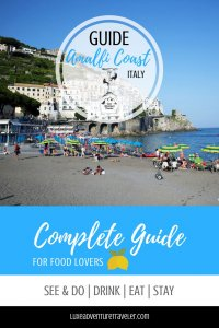 Guide to the Amalfi Coast Pinterest Pin