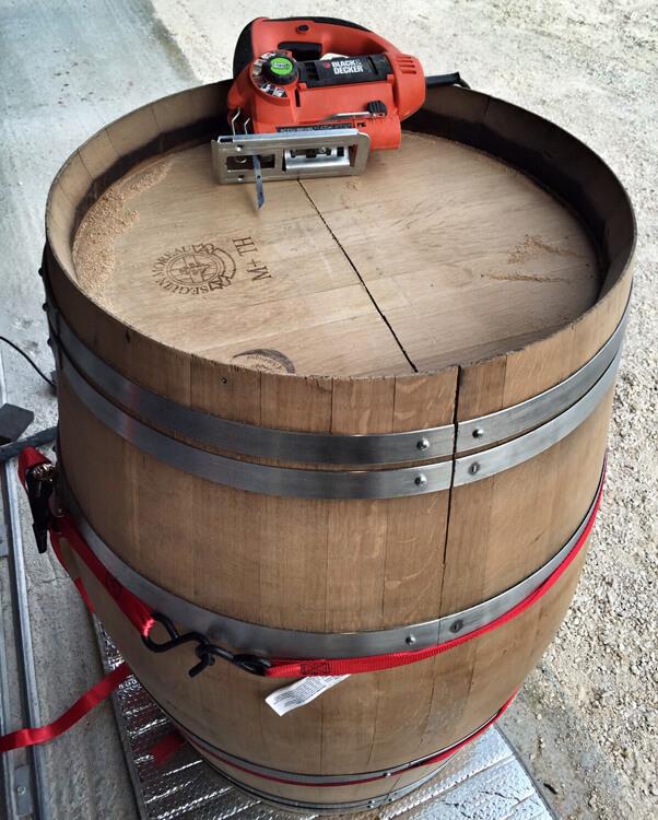 Diy Wine Barrel Coffee Table Luxe Adventure Traveler