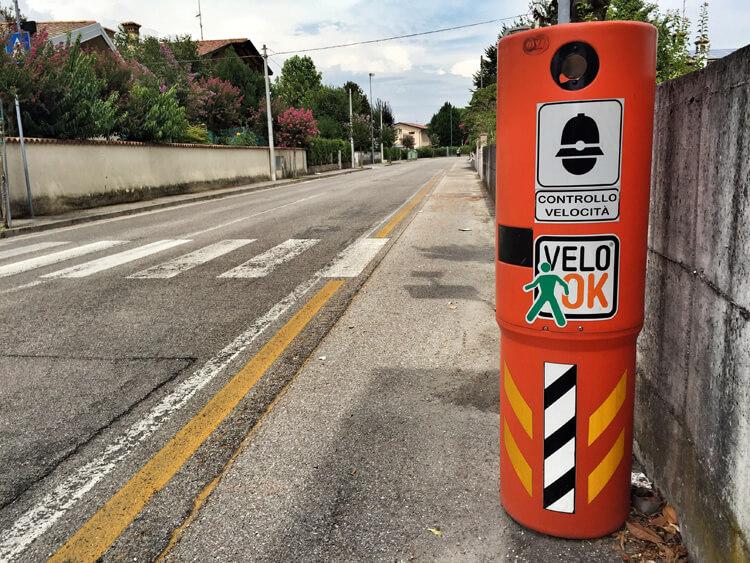 Italy fixed speed camera