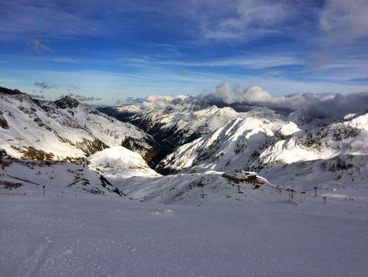 Stubai Ski Run