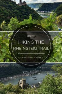 How to hike the Rheinsteig Trail, Germany