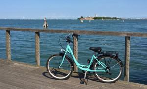 Biking The Lido in the Venice Lagoon