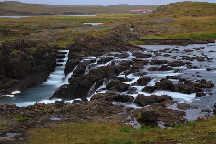 Glanni Waterfall, Snaefellsnes Peninsula, Iceland