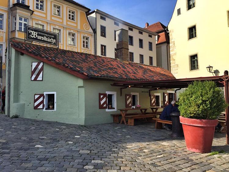 Historische Wurstkuchl Regensburg