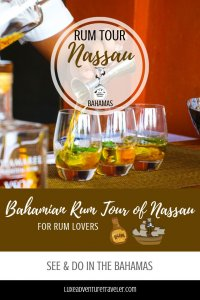 Nassau Rum Tour Pinterest Pin
