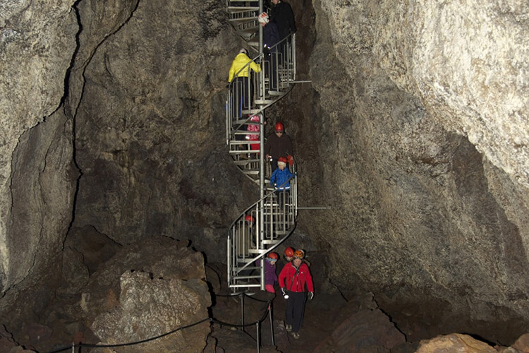 Vatnshellir Cave, Snaefellsnes Peninsula, Iceland