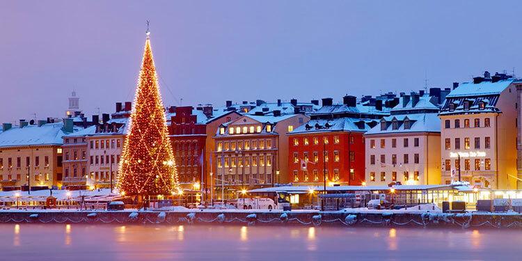 Stockholm Christmas lights