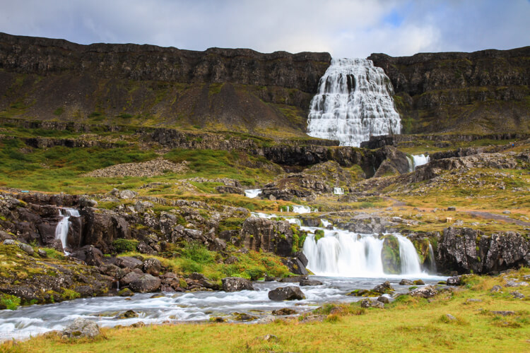 Dynjandi in Westfjords Iceland