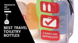 Best Reusable Travel Size Toiletry Bottles