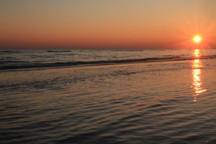 Bibione Beach Sunset