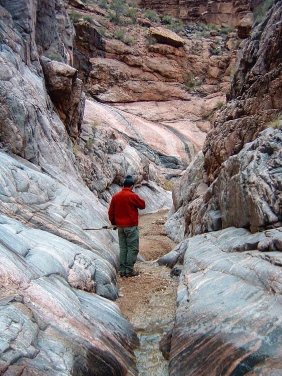 Granite Walls Monument Creek Grand Canyon