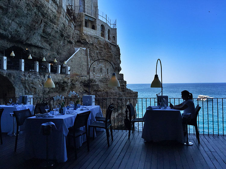 Grotta Palazzese Italy S Restaurant Built Inside A Cave