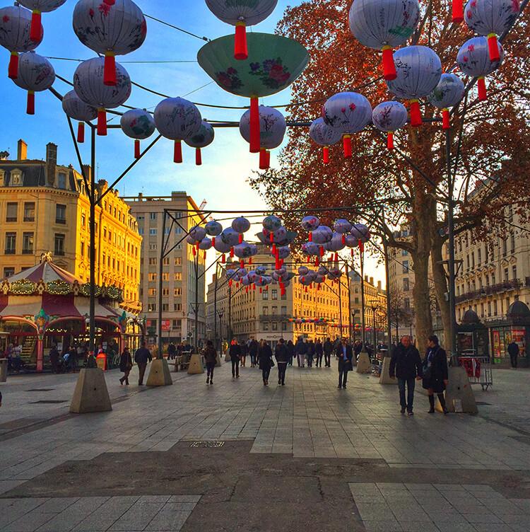 Rue de la République Lyon