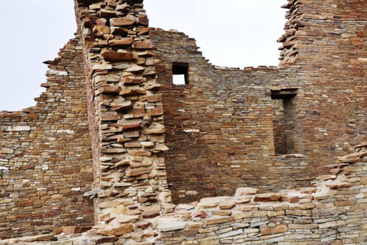 Pueblo Bonito at Chaco Culture National Historical Park