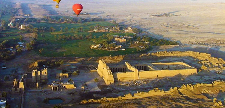 hot air ballooning Luxor