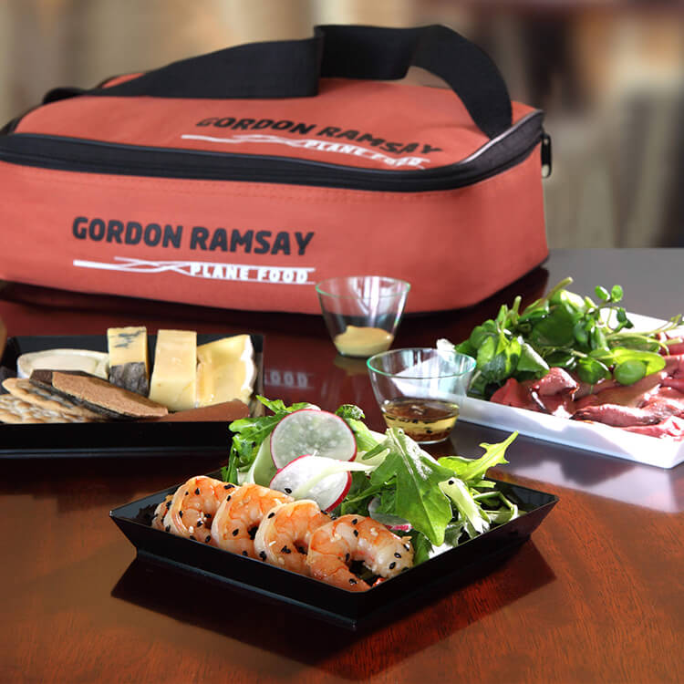Gordon Ramsay Plane Food Picnic