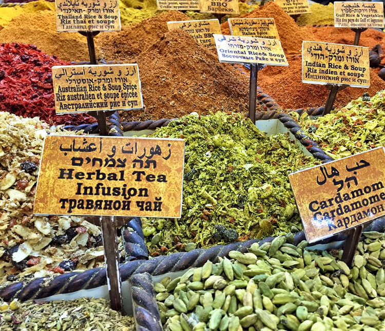 Jerusalem Old City Spice Souk