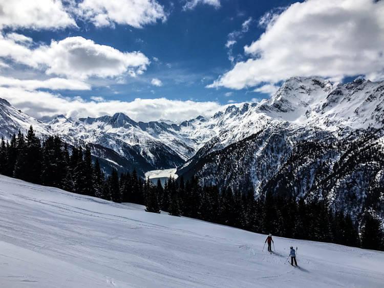 Bergamo Alps Aprica Skiing