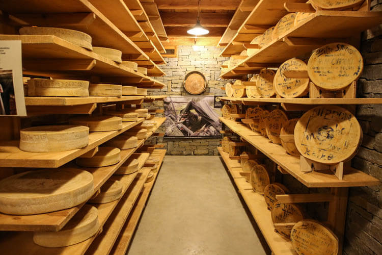 Bitto Storico Cheese Aging