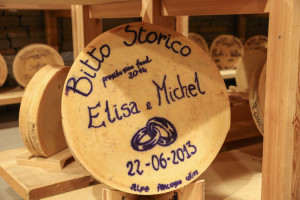 Bitto Storico Cheese Wedding Present