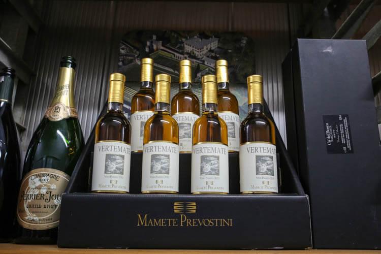 Palazzo Vertemate Wine