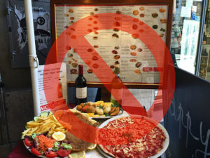 Tips for finding authentic restaurants in Italy