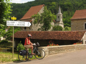 Cycling the vineyards of Burgundy