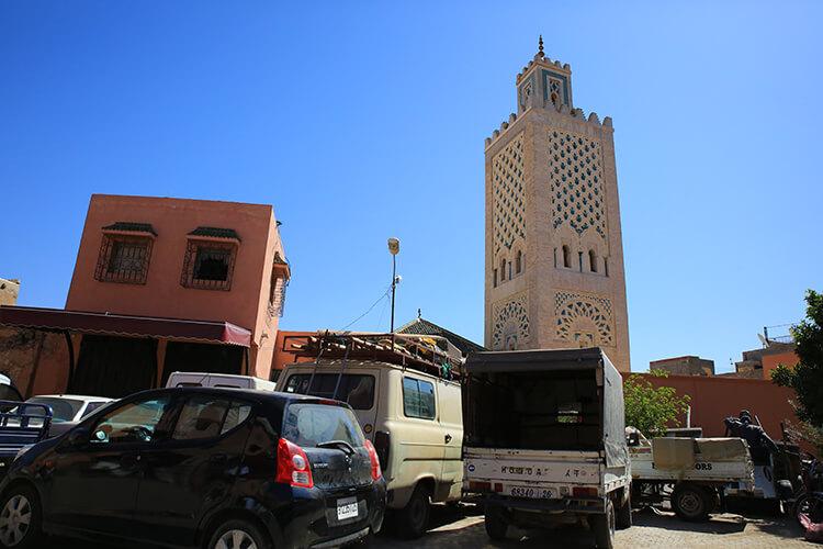 Koutoubia Mosque minaret Marrakech