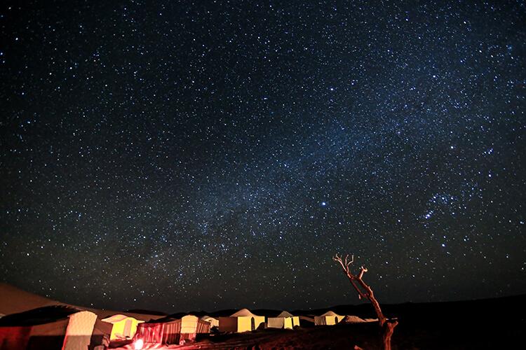 Milky Way, Sahara Desert