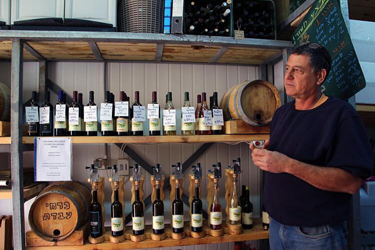 Carmey Avadt Winery Negev Desert