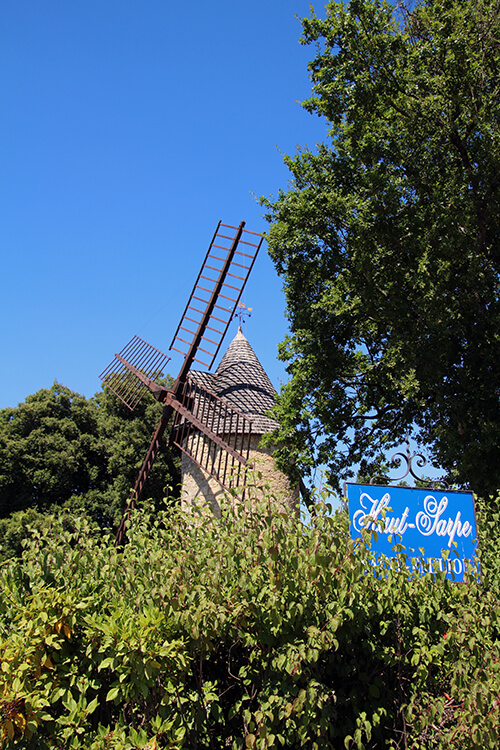 Windmill at Chateau Haut-Sarpe