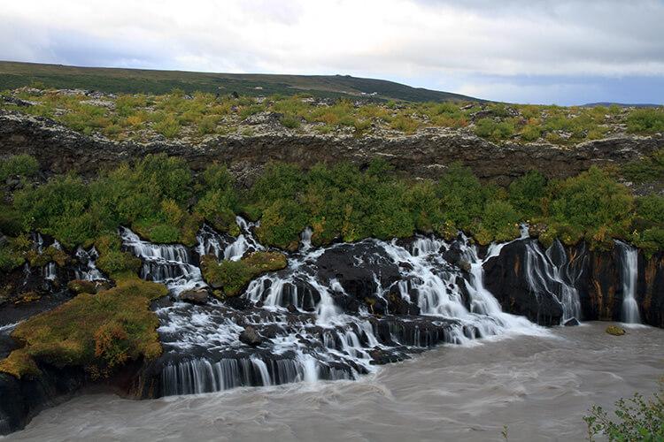 Barnafoss Snaefellsnes Iceland
